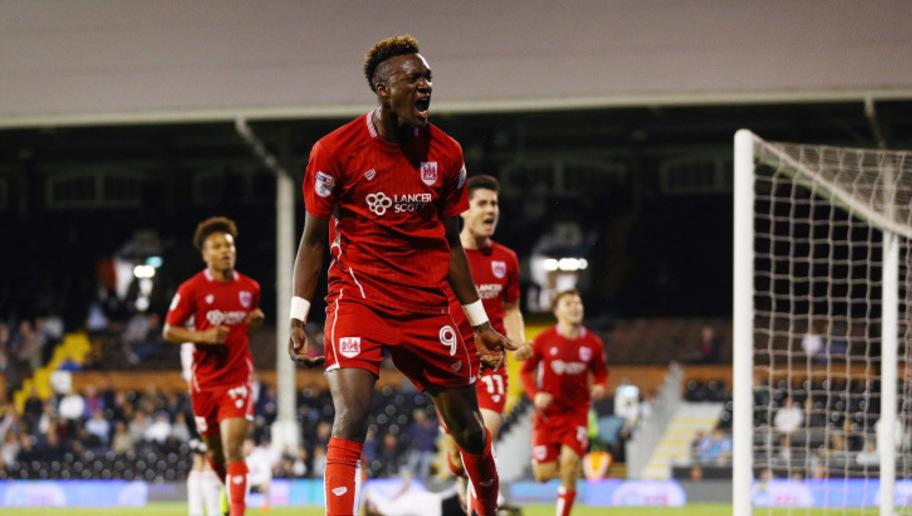 "e it Bristol City striker Tammy Abraham has set the championship alight this season since his season-long loan deal from Chelsea. The 6""2 forward has been a shining star in the City squad this season, banging in all sorts of outrageous goals. The fan favourite has done everything that manager Lee Johnson has asked of him, with both player and manager reaping the benefits. After scoring in the draw with Blackburn Rovers at the weekend, the rising star boasted an unbelievable statistic. It took..."