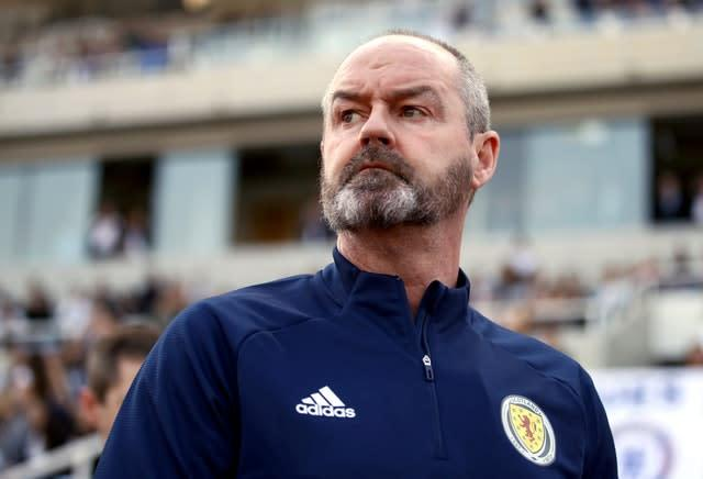 Steve Clarke had a difficult start to life as Scotland boss (Tim Goode/PA)