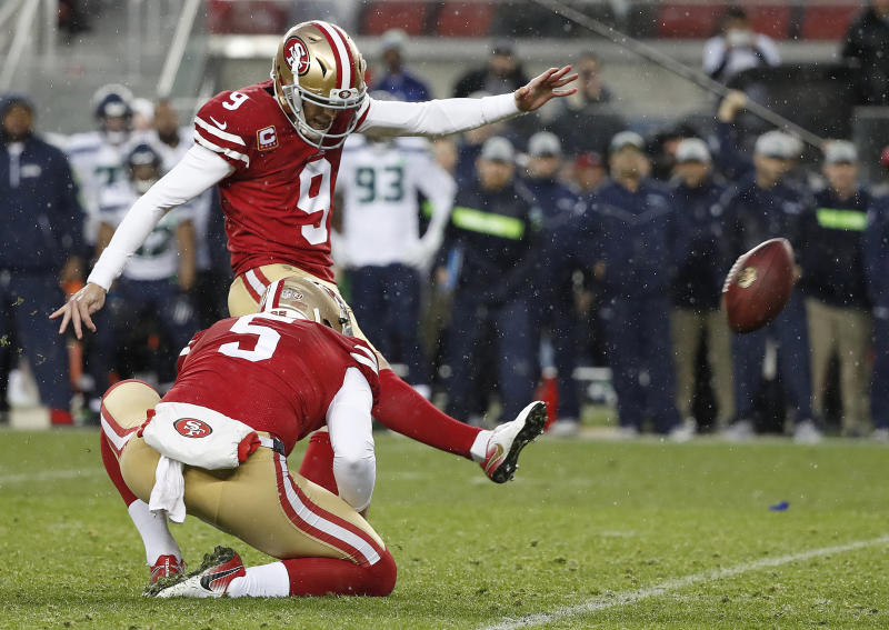 49ers sign K Robbie Gould to 4-year contract