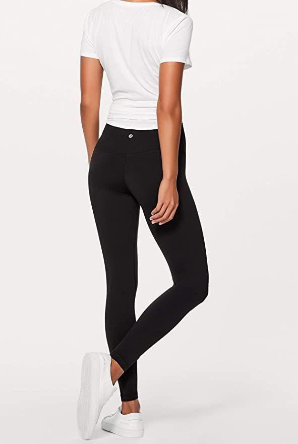 """<p><strong>Lululemon</strong></p><p>amazon.com</p><p><strong>$129.40</strong></p><p><a href=""""https://www.amazon.com/dp/B01M1KHHA6?tag=syn-yahoo-20&ascsubtag=%5Bartid%7C10065.g.34251921%5Bsrc%7Cyahoo-us"""" rel=""""nofollow noopener"""" target=""""_blank"""" data-ylk=""""slk:Shop Now"""" class=""""link rapid-noclick-resp"""">Shop Now</a></p><p>YUP, you can buy <a href=""""https://www.seventeen.com/fashion/g27325538/best-lululemon-leggings/"""" rel=""""nofollow noopener"""" target=""""_blank"""" data-ylk=""""slk:Lululemon leggings"""" class=""""link rapid-noclick-resp"""">Lululemon leggings</a> on Amazon. Get all that butt-cradling action with the added bonus of one-day Prime shipping. It really doesn't get better than this. </p>"""