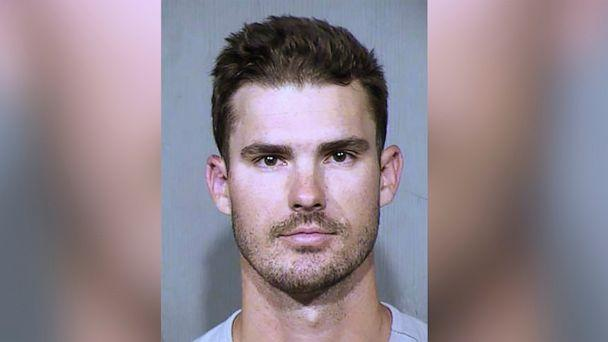 PHOTO: This Oct. 6, 2019, booking photo provided by the Maricopa County Sheriff's Office in Phoenix shows San Diego Padres pitcher Jacob Nix. (Maricopa County Sheriff's Office via AP)