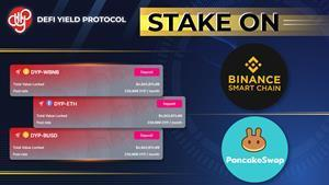 DYP Introduces Its Services on Binance Smart Chain for Staking Diversity