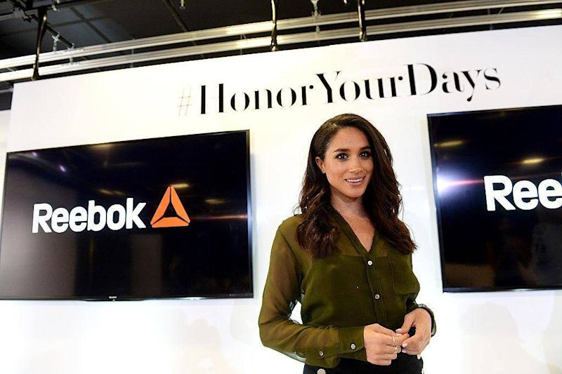 Meghan Markle attends REEBOK #HonorYourDays at Reebok Headquarters on April 28, 2016 in Canton, Massachusetts (Photo by Darren McCollester/Getty Images for REEBOK)