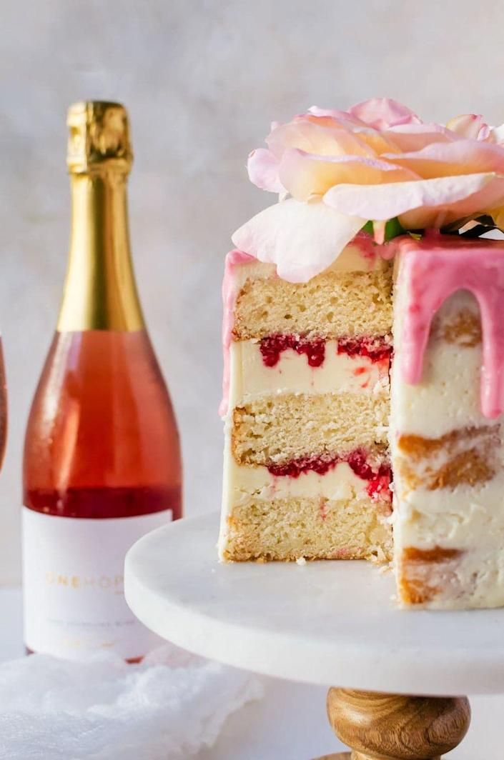 "<p>Here's the cake for any moms obsessed with rosé! The pink hued wine is used in the cake, frosting, and a special syrup.</p><p><strong>Get the recipe at <a href=""https://cookienameddesire.com/rose-cake-recipe/"" rel=""nofollow noopener"" target=""_blank"" data-ylk=""slk:A Cookie Named Desire"" class=""link rapid-noclick-resp"">A Cookie Named Desire</a>.</strong></p><p><strong><a class=""link rapid-noclick-resp"" href=""https://go.redirectingat.com?id=74968X1596630&url=https%3A%2F%2Fwww.walmart.com%2Fsearch%2F%3Fquery%3Dicing%2Bspatula&sref=https%3A%2F%2Fwww.thepioneerwoman.com%2Ffood-cooking%2Fmeals-menus%2Fg36066375%2Fmothers-day-cakes%2F"" rel=""nofollow noopener"" target=""_blank"" data-ylk=""slk:SHOP ICING SPATULAS"">SHOP ICING SPATULAS</a><br></strong></p>"