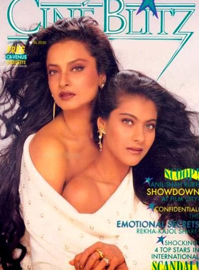 When Rekha posed fearlessly for vintage magazine covers | Celebrities News – India TV