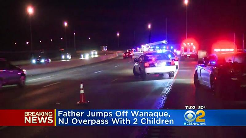 Father jumps from bridge with 2 children in Wanaque, New Jersey