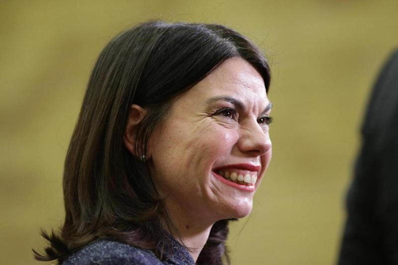 New MP: Liberal Democrat Sarah Olney speaks to the media after winning the Richmond Park by-election (PA)