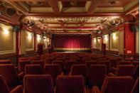 """<p>This stunning Edwardian classic single-screen cinema will transport you to the bygone days of the glamorous silver screen. While the exterior may not grab your attention, the auditorium certainly will; think ornate red and gold walls, along with grand drapes that guarantee a dramatic unveiling of the screen. In the unlikely event that you dislike your film, all is not lost; the reclined velvet seats can send even the gravest of <a href=""""https://www.elle.com/uk/life-and-culture/articles/a30826/common-insomnia-cures/"""" rel=""""nofollow noopener"""" target=""""_blank"""" data-ylk=""""slk:insomniacs"""" class=""""link rapid-noclick-resp"""">insomniacs</a> to sleep.</p><p>Address: 87 Notting Hill Gate, Kensington, London W11 3JZ<br><br>Click<a href=""""https://www.picturehouses.com/cinema/the-gate"""" rel=""""nofollow noopener"""" target=""""_blank"""" data-ylk=""""slk:here"""" class=""""link rapid-noclick-resp""""> here</a> for more information.</p>"""