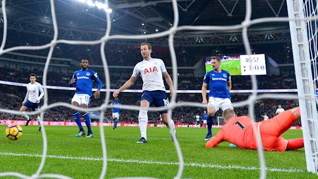 Tottenham striker Harry Kane is not focusing on future records after becoming their top Premier League goalscorer in history.