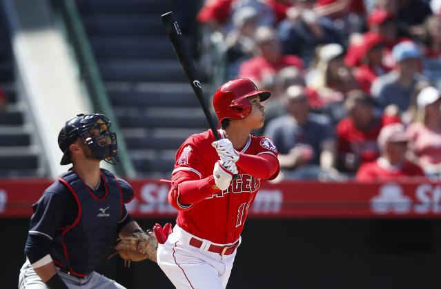 Shohei Ohtani has been as awesome as advertised with the Angels thus far. (AP Photo)