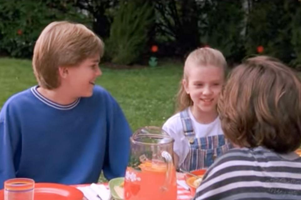 <p>Johansson appeared in this '90s film starring a young Elijah Wood, about a boy who runs away from home.</p>