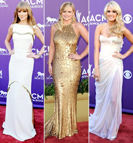 ACM Awards 2012: The Best and Worst Dressed Stars