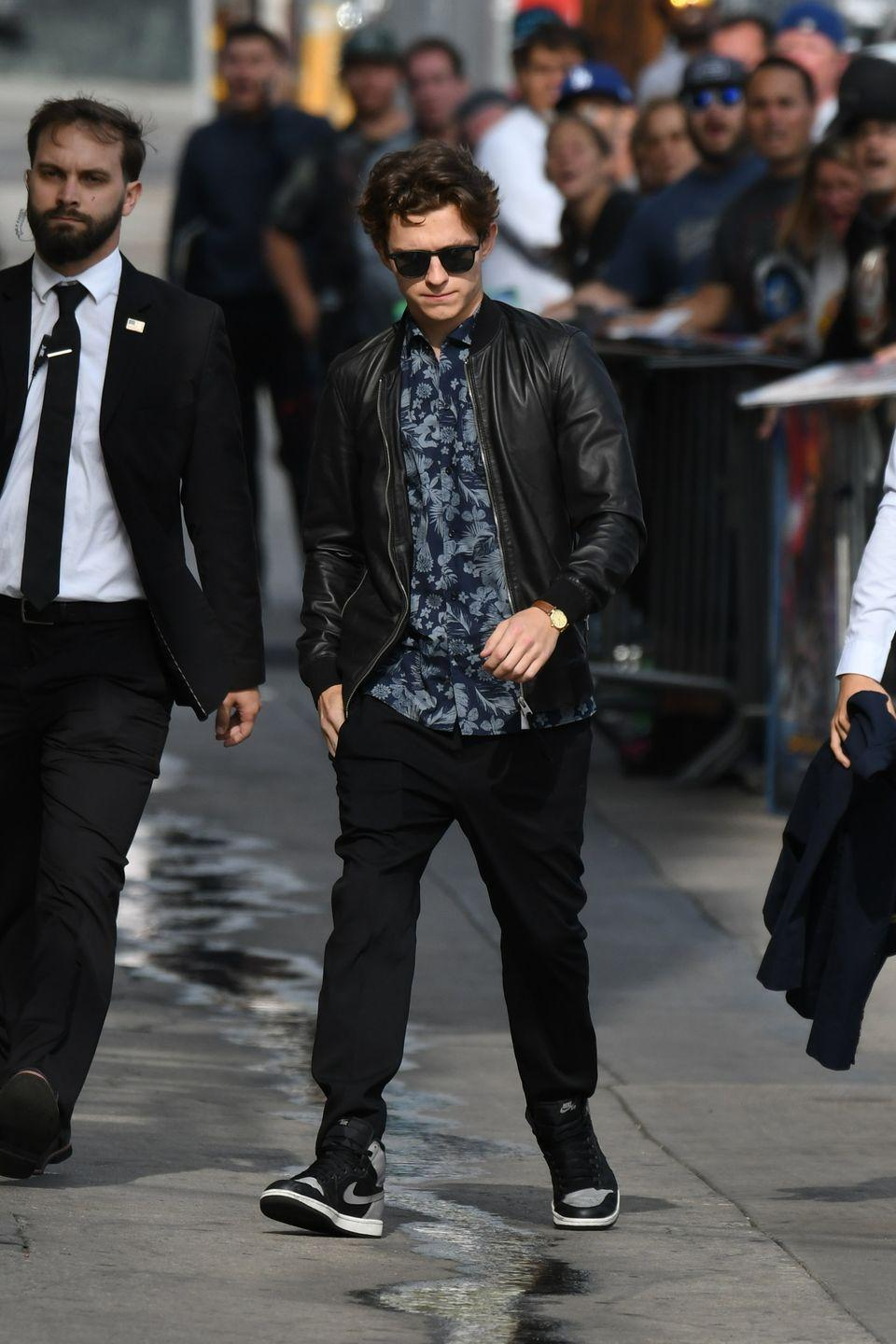 <p>Tom Holland is seen on May 31, 2017 in Los Angeles, California.</p>