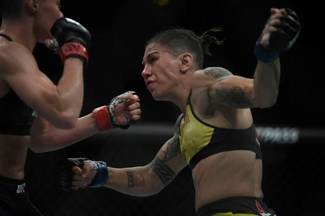 Jessica Andrade urged action to put out the Amazon rainforest fires (AFP Photo/Mauro Pimentel)