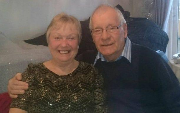 Mavis and Dennis Eccleston had been married for almost 60-years