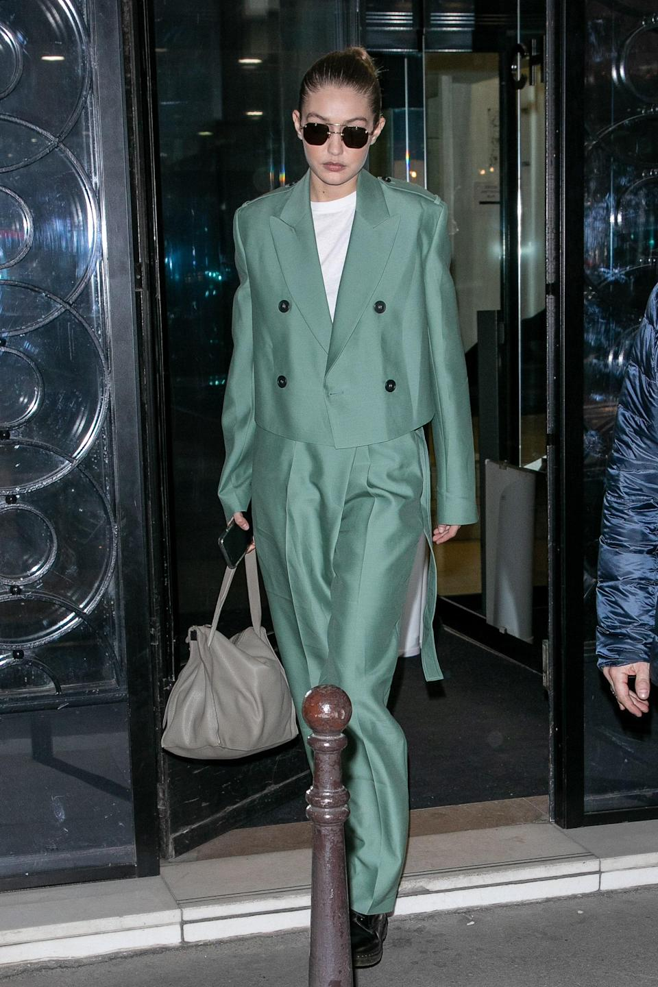 """If there is one """"Gigi"""" suit, it's this one."""