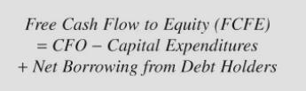 Strategic Value Investing GuruFocus free cash flow to equity formula