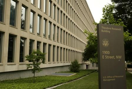 U.S. Office of Personnel Management building in Washington