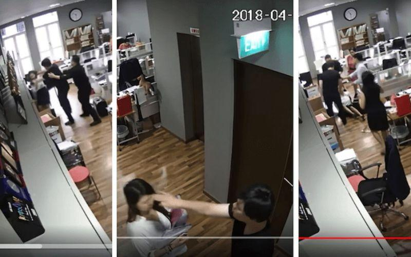 Samuel Seow Theng Beng, 46, faces four charges including causing hurt and using criminal force. (Photo: Video screencaps)