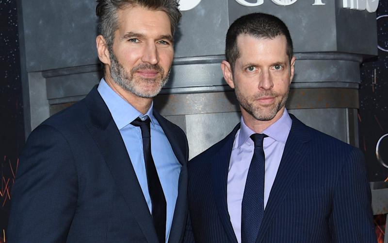 DB Weiss and David Benioff, creators of Game of Thrones - Invision