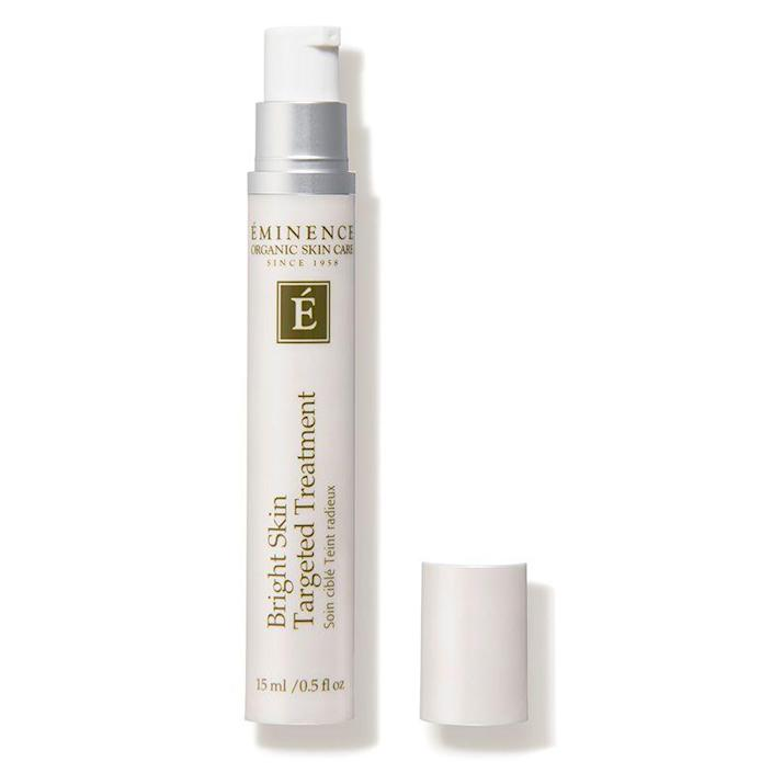 """<p><strong>Eminence Organic Skin Care</strong></p><p>dermstore.com</p><p><strong>$65.00</strong></p><p><a href=""""https://go.redirectingat.com?id=74968X1596630&url=https%3A%2F%2Fwww.dermstore.com%2Fproduct_Bright%2BSkin%2BTargeted%2BDark%2BSpot%2BTreatment_66202.htm&sref=https%3A%2F%2Fwww.marieclaire.com%2Fbeauty%2Fg35218066%2Fbest-products-for-acne-scars%2F"""" rel=""""nofollow noopener"""" target=""""_blank"""" data-ylk=""""slk:SHOP IT"""" class=""""link rapid-noclick-resp"""">SHOP IT</a></p><p>Sometimes, swiping a serum on your whole face just won't cut it. Targeted treatments can help treat those extra stubborn spots, and dabbing this licorice and turmeric-infused formula on twice a day can clear a discolored complexion. </p>"""