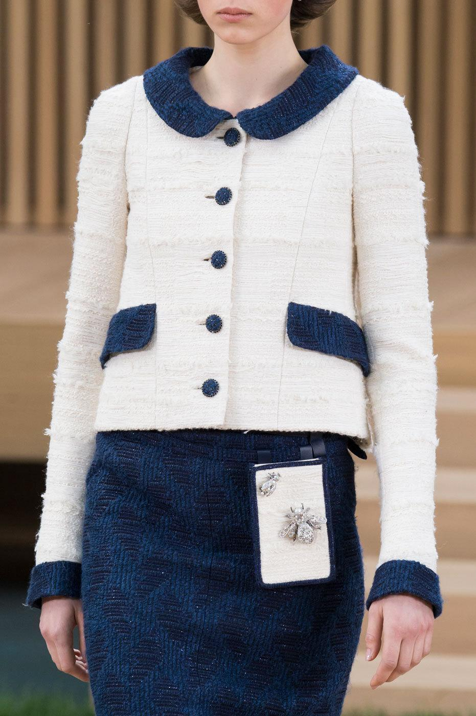 <p>Geek chic at Chanel. The fanny bag goes high tech as a phone holder. <i>Photos: Imaxtree</i></p>