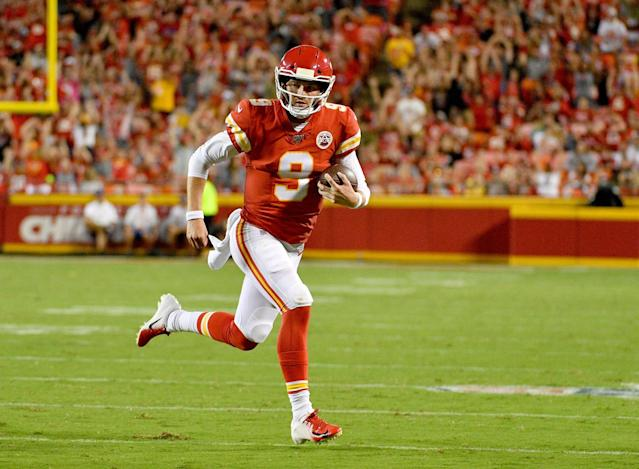 Chiefs Promote QB Kyle Shurmur from Practice Squad, Release WR De'Anthony Thomas