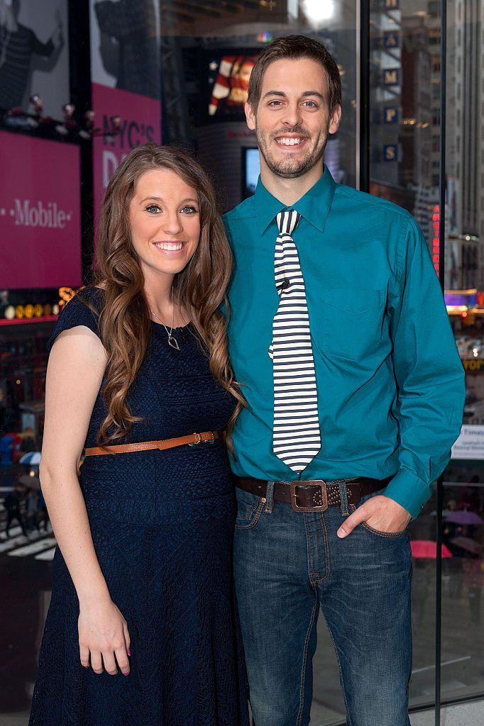 Jill and Derick look amazing in casual clothing as they pose for the camera with amazing smiles on their faces