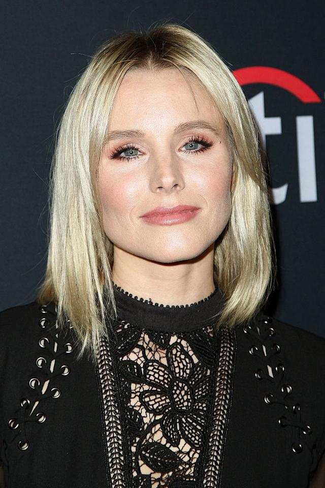 """<p>""""You're participating in the most beautiful cycle that this earth will allow—who cares if you put on weight for a few months or a year or two years? In the grand scheme of things, I refuse to let it bother me,"""" Kristen Bell told <i>Women's Health. (Photo: Getty). </i></p>"""