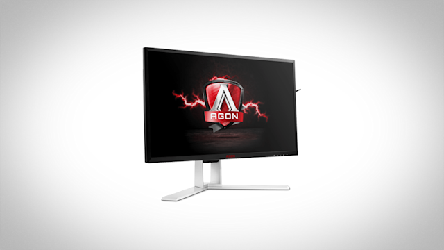 Display maker AOC said that its AGON line of monitors for PC gaming is now available in the United States. Both are 27-inch panels with high resolutions packing technology to reduce image tearing, stuttering, and input lag. Prices start at $600.