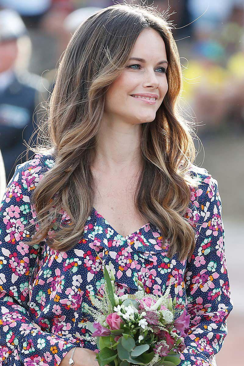 <p>Princess Sofia of Sweden nailed effortless loose curls during Princess Victoria's 41st birthday celebrations. </p>