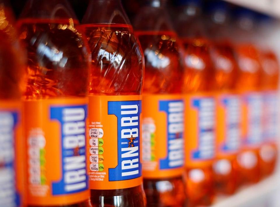 AG Barr is behind the Irn Bru brand  (REUTERS)
