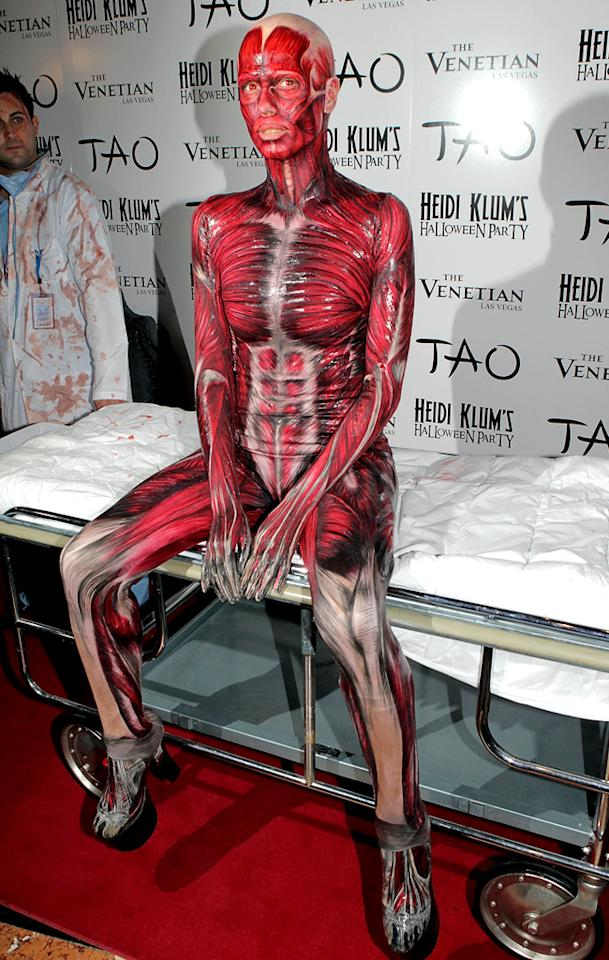 LAS VEGAS - OCTOBER 29:  Heidi Klum attends her 12th Annual Halloween Party at TAO Nightclub at the Venetian on October 29, 2011 in Las Vegas, Nevada.  (Photo by Chris Weeks/WireImage)