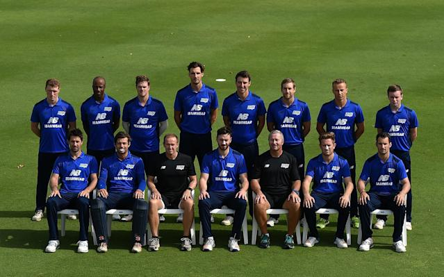 <span>The South squad</span> <span>Credit: GETTY IMAGES </span>