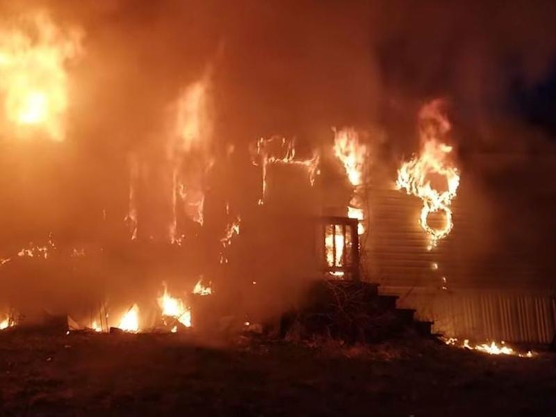 Three children and two adults were killed in the blaze: Screenshot/YouTube/Journal Star