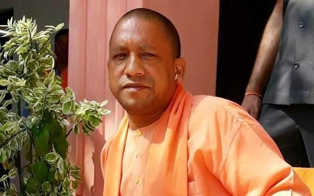 Jackets, saris, towels, even microphone wires: In Yogi's UP, it's saffron, saffron and more saffron