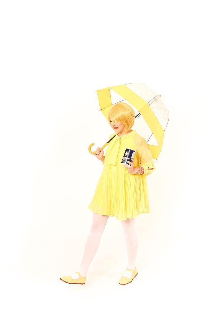 """<p>How cute is this all-yellow ensemble inspired by the famous Morton Salt Girl? No one will rain on your parade this Halloween. </p><p><strong>See more at <a href=""""https://keikolynn.com/2016/10/morton-salt-girl-costume/"""" rel=""""nofollow noopener"""" target=""""_blank"""" data-ylk=""""slk:Keiko Lynn"""" class=""""link rapid-noclick-resp"""">Keiko Lynn</a>. </strong></p><p><a class=""""link rapid-noclick-resp"""" href=""""https://go.redirectingat.com?id=74968X1596630&url=https%3A%2F%2Fwww.walmart.com%2Fip%2FMorton-Salt-Plain-26-Ounce%2F10318919&sref=https%3A%2F%2Fwww.thepioneerwoman.com%2Fholidays-celebrations%2Fg37115224%2Fteen-halloween-costumes%2F"""" rel=""""nofollow noopener"""" target=""""_blank"""" data-ylk=""""slk:SHOP MORTON SALT"""">SHOP MORTON SALT</a></p>"""