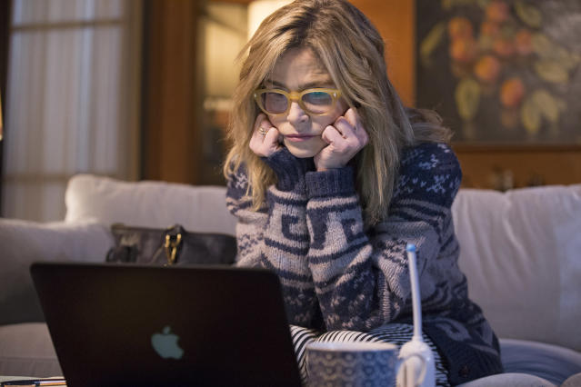 Kyra Sedgwick in <em>Ten Days in the Valley.</em> (Photo: Paul Sarkis/ABC)