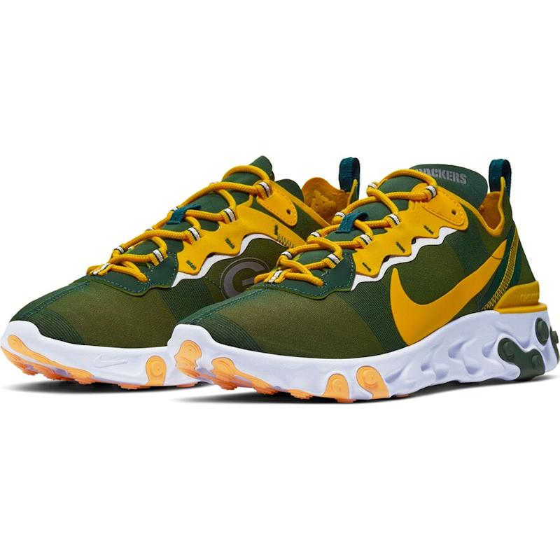Packers React Element 55 Shoes