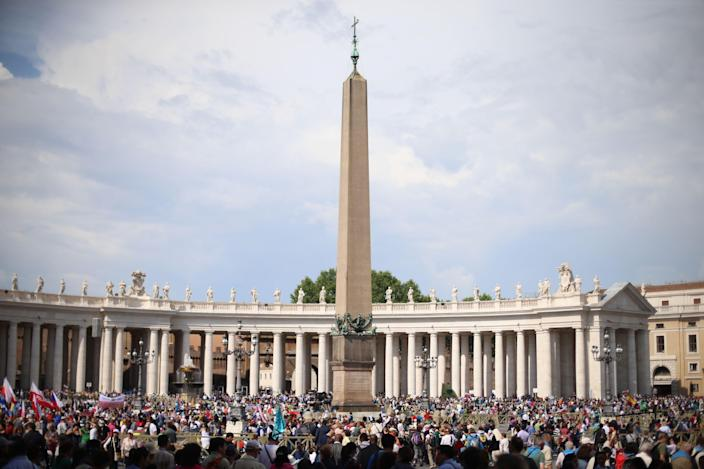 St Peters Square in Rome (Niall Carson/PA Wire)