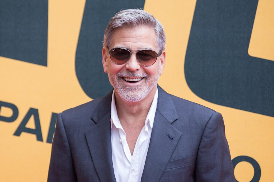 George Clooney during the photocall in Rome for the press presentation of Sky series 'Catch-22'. (Photo by Matteo Nardone/Pacific Press/LightRocket via Getty Images)