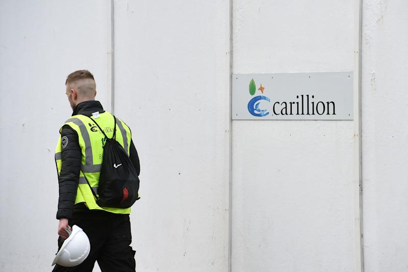 <strong>Around 2,000 apprentices have no placement since Carillion went bust on Monday</strong> (PA Wire/PA Images)