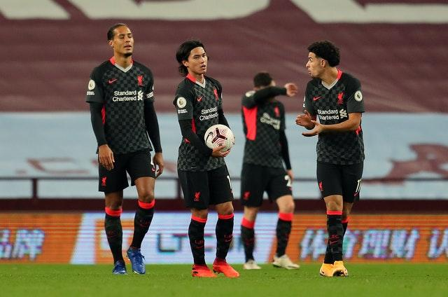 Liverpool were stunned by Villa