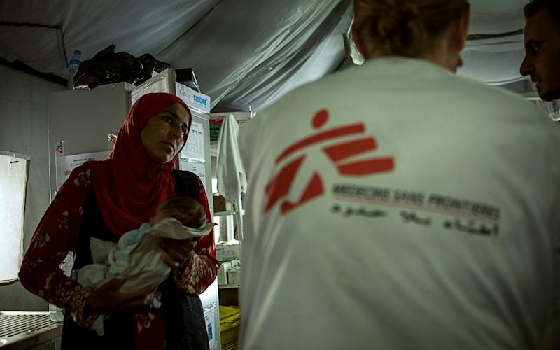 MSF In Qayyarah, a town some 60 kilometres south of Mosul, Iraq - HUSSEIN MSF