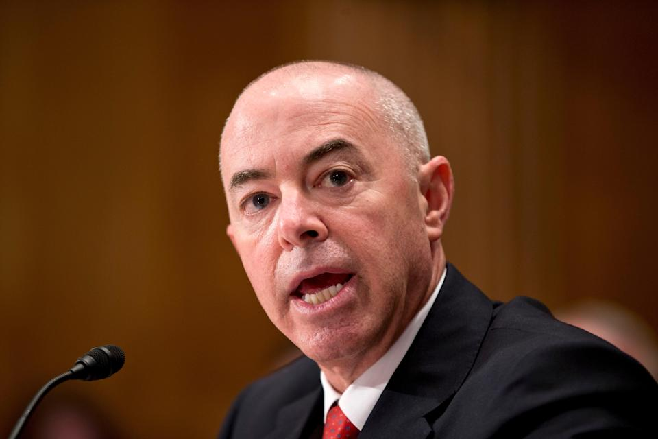 <p>If confirmed by the Senate, Mayorkas would be the first Hispanic and the first immigrant to lead DHS.</p> (FILE. Copyright 2020 The Associated Press. All rights reserved. )