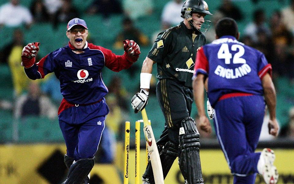 Nixon played 20 games for England in limited-overs cricket - AP