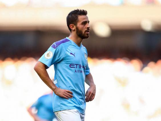 Bernardo Silva compared a teammate with the Conguitos mascot (Getty)