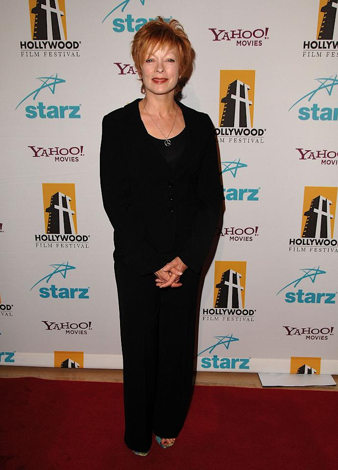 "<a href=""http://movies.yahoo.com/movie/contributor/1800019503"">Frances Fisher</a> at the Hollywood Film Festival's Hollywood Awards in Beverly Hills - 10/22/2007"