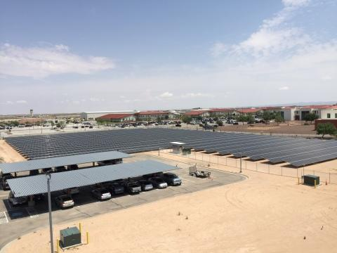 Ameresco and U.S. Drug Enforcement Administration Commemorate Completion of New 2.5 Megawatt Solar System