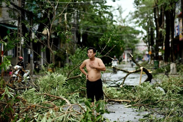 Typhoon Molave was Vietnam's fourth storm this month